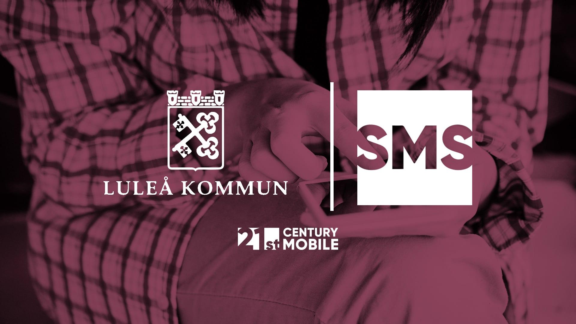Luleå kommun sms- tjänst från 21st