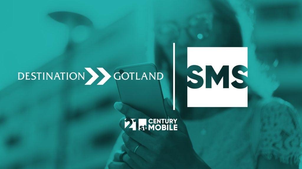 Destination Gotland sms-tjänst