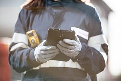Riskanalys via mobilen
