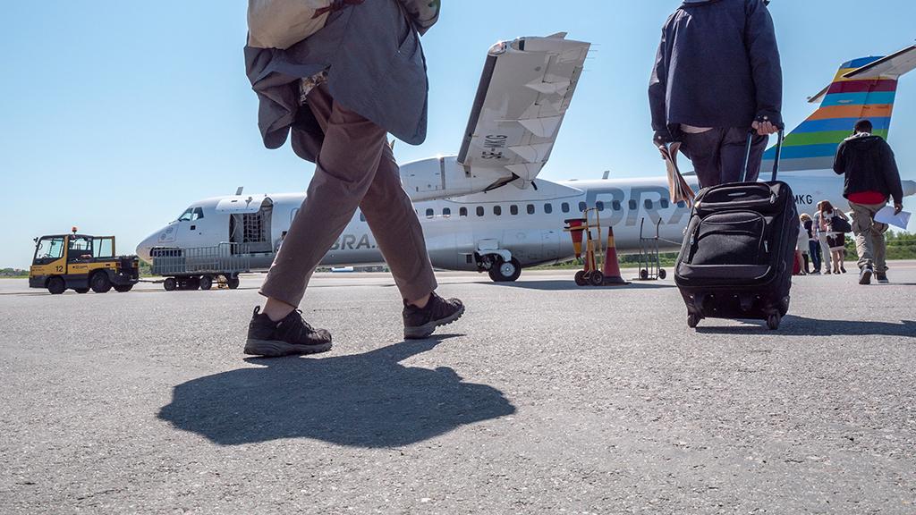 Resenärer får trafikinfo via SMS hos Bra flyg