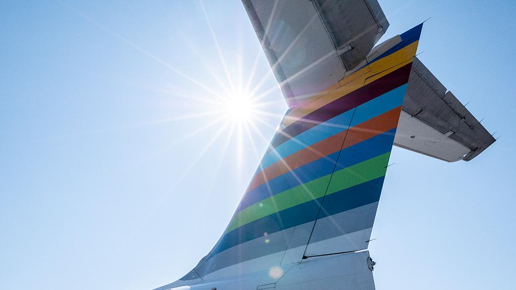 Resenärer kan checka in via SMS hos Bra flyg.