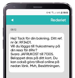 Erbjudanden via SMS och kortnummer