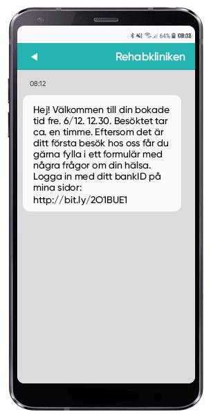 SMS inom vården