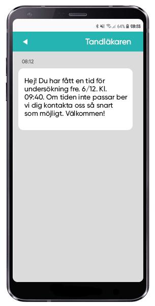 Kallelse via SMS