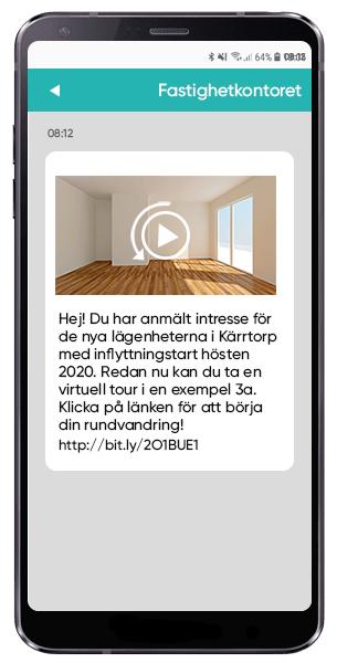 Locka fler bostadsköpare med SMS