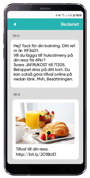 Skicka erbjudanden med SMS och kortnummer