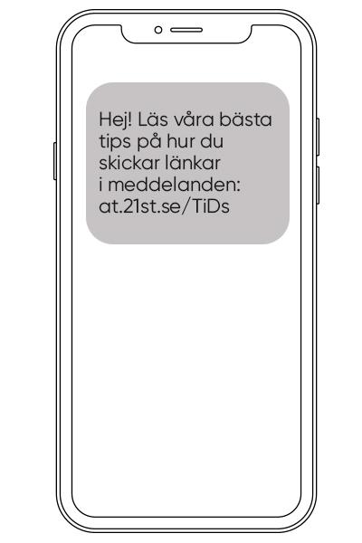 skicka länkar i meddelanden