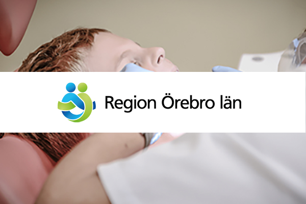 Region Örebro län använder SMS- tjänst i vården.